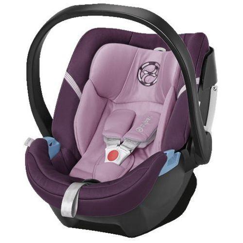 gold fotelik samochodowy aton 4 princess pink-purple marki Cybex