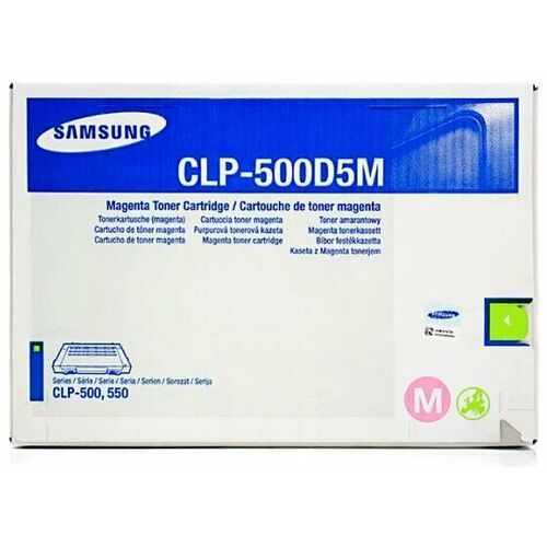 Wyprzedaż Oryginał Toner Samsung CLP-500D5M (kolor magenta) CLP-500/550