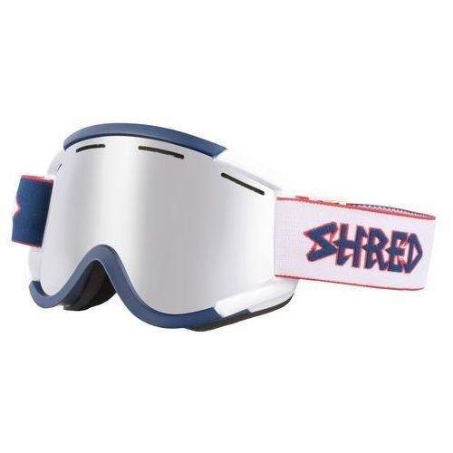 Gogle narciarskie, snowboardowe nastify white/blue le pintu / platinum s3 marki Shred