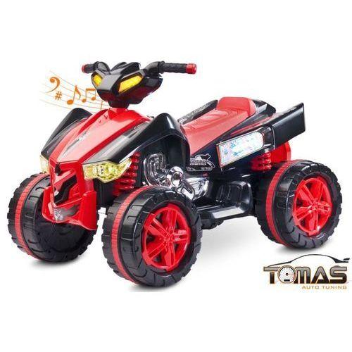 Toyz Quad raptor pojazd na akumulator czerwony