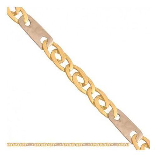 Łańcuszek złoty pr. 585 - lm018 marki Rodium