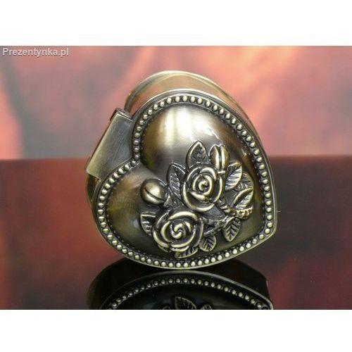 Szkatułka serce stare złoto - produkt z kategorii- Na parapetówkę dla nich