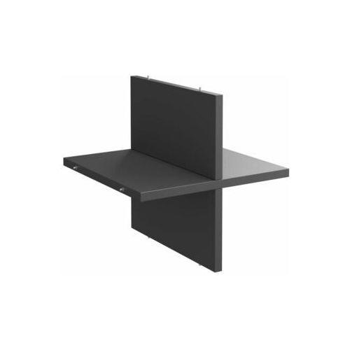 Półka krzyżakowa 32.6 x 32.7 x 1.6 cm grafit Spaceo Kub (3276000605485)