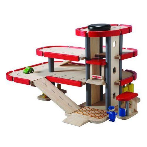Plan toys drewniany parking-garaż z akcesoriami (8854740062277)
