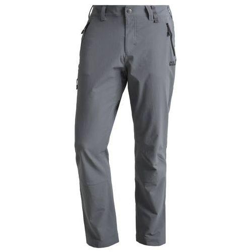 Jack Wolfskin ACTIVATE Spodnie materiałowe dark iron, poliamid