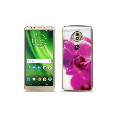 etuo Foto Case - Motorola Moto G6 Play - etui na telefon Foto Case - fioletowa orchidea