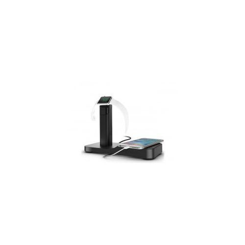 Griffin watchstand powered charging station - stacja dokująca do apple watch & iphone & ipad (czarny)