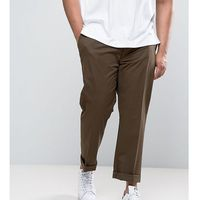 Polo ralph lauren big & tall chinos stretch twill in brown - brown