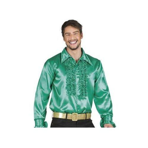 Koszula z Falbanami Zielona - L