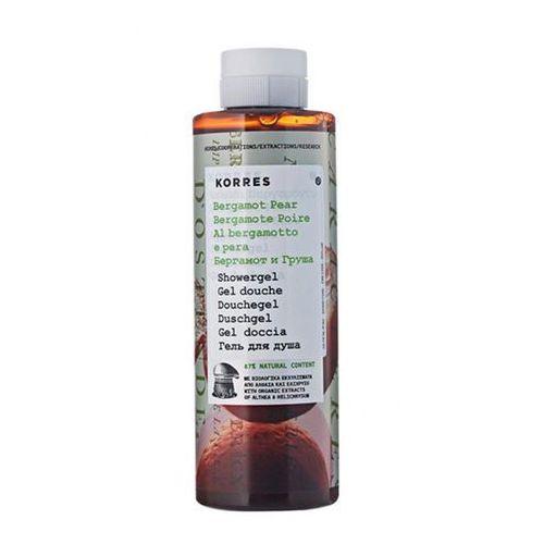 Bergamot pear showergel żel pod prysznic o zapachu bergamotki i gruszki 250ml -  marki Korres