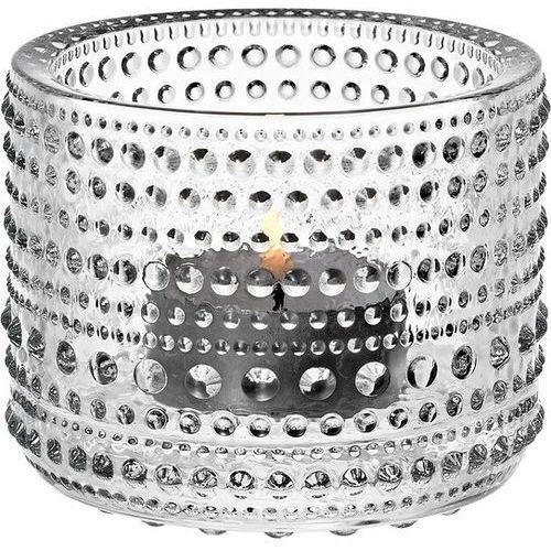 Kastehelmi świecznik na tealight, przezroczysty - marki Iittala