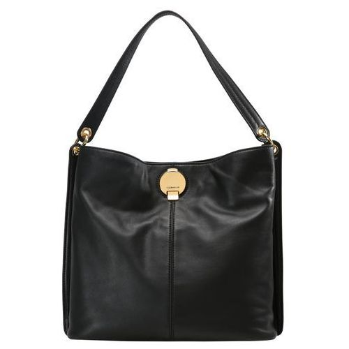 Karen Millen DISC FASTENING COLLECTION LARGE SLING Torba na zakupy black (5054236211759)