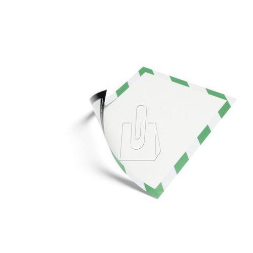 Ramka Duraframe Magnetic Security Durable A4 zielono-biała 5 sztuk 4945-131 - sprawdź w wybranym sklepie