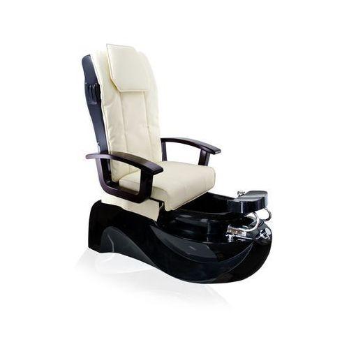 Fotel pedicure spa ts1204 ecru/black z funkcją masażu marki Activ