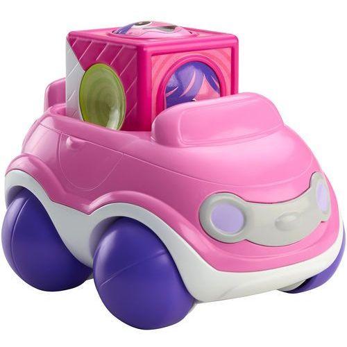 Fisher Price  Ruchome klocki różowy samochód CDV89