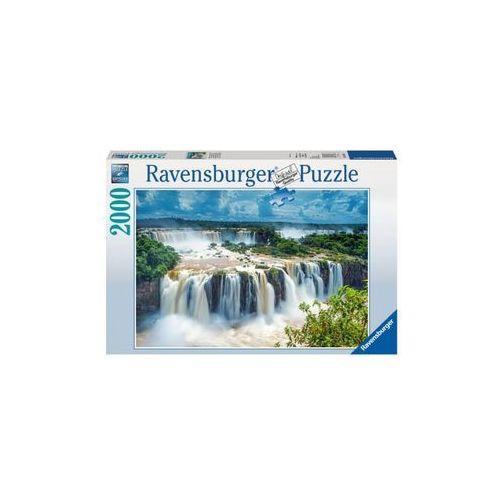 Ravensburger Puzzle 2000 elementów wodospad iguazu rap166077 (4005556166077)