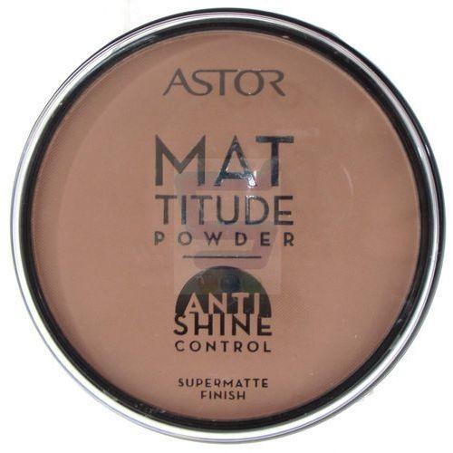 Astor  mattitude anti shine puder matujący odcień 004 sand (supermatte powder) 14 g (3595674770047)