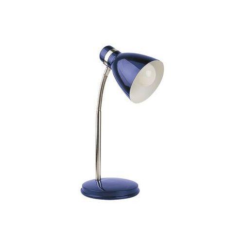 Rabalux Lampa stołowa lampka biurkowa patric 1x40w e14 niebieski/chrom 4207