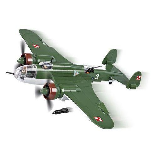 Klocki COBI Mała Armia Samolot PZL P-37B Łoś 5532