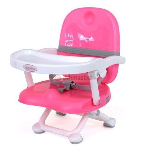 Krzesełko do karmienia ace 1013-3 różowe marki Moolino