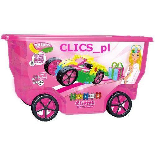CLICS CB-415 klocki z brokatem GLITTER