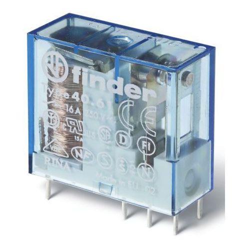 Przekaźnik 1co 16a 12v dc styki agsno2 40.61.9.012.4000 marki Finder