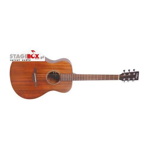 Vintage v300mh - folk guitar, solid top, mahogany |
