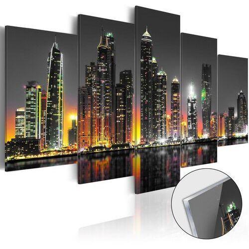 Artgeist Obraz na szkle akrylowym - pustynne miasto [glass]