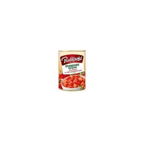 Pomidory krojone bez skórki w soku pomidorowym 400 g Pudliszki