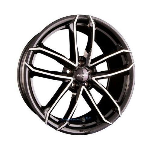 Wheelworld wh33 schwarz hochglanzpoliert (sp plus) einteilig 8.50 x 19 et 45