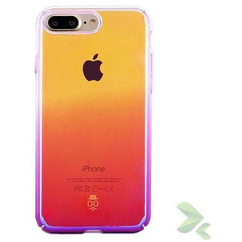 Seedoo Dazzle - Etui iPhone 7 Plus (fioletowy/żółty/różowy), kolor różowy