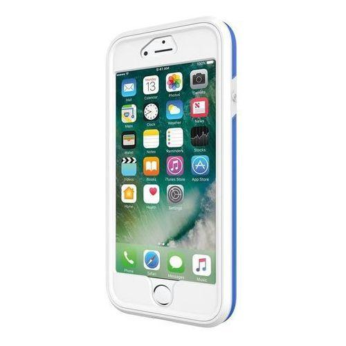 Incipio Performance Series Max - Pancerne etui iPhone 7 (White/Blue), kolor niebieski