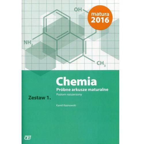 Chemia Próbne arkusze maturalne Zestaw 1 Poziom rozszerzony (9788375941302)