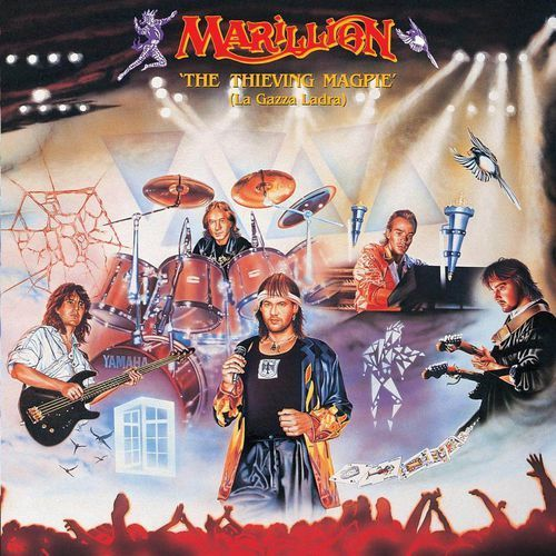 Emi music poland Marillion - thieving magpie (la gazza ladra) - album 2 płytowy (cd)