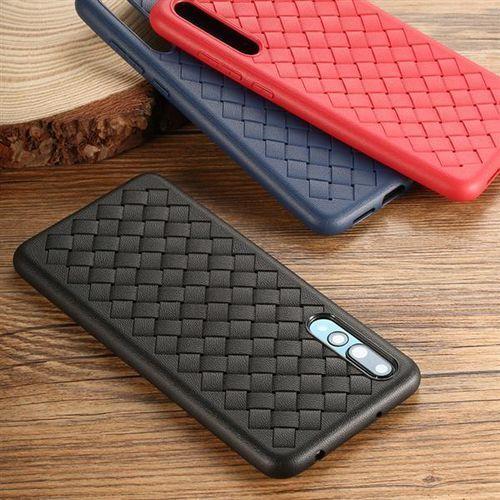 Etui Benks Weavelt TPU Huawei P20 Pro - Black - Black