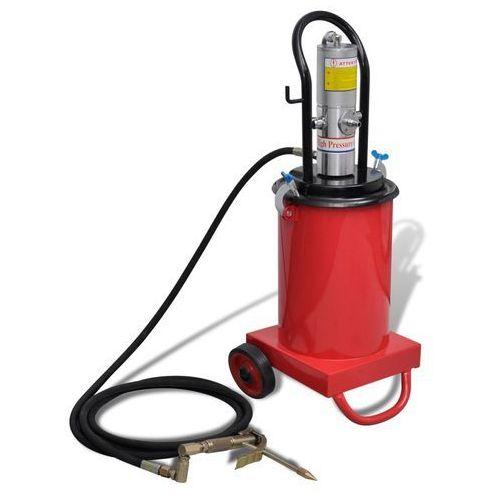 Vidaxl wtryskiwacz olejowy z napędem pneumatycznym 12 l (8718475859666)