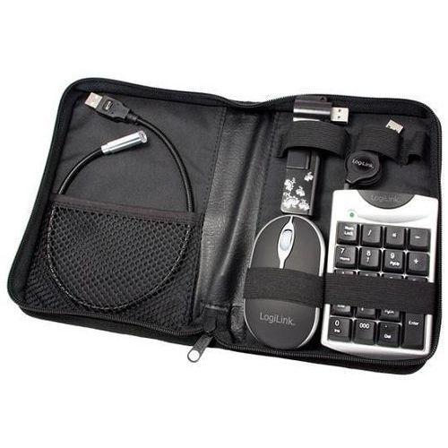 LogiLink Zestaw akcesoriów USB mysz, klawiatura, hub - (UA0010A) Darmowy odbiór w 21 miastach! (4260113573747)