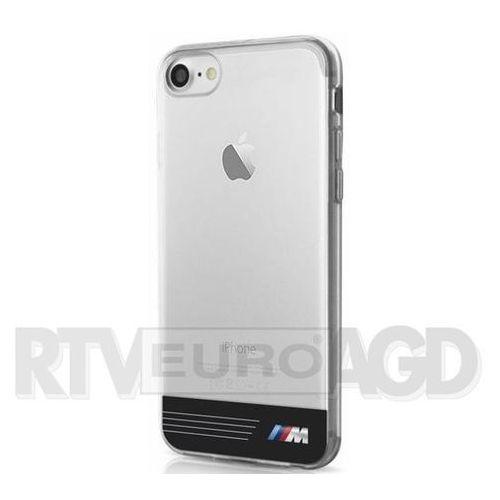 BMW Etui Hard do iPhone 7 czarne-transparentne (BMHCP7TRGPBK) Darmowy odbiór w 20 miastach! (Futerał telefoniczny)