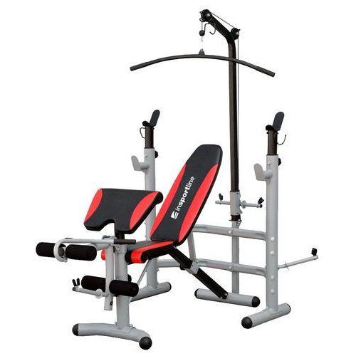 Ławka ze stojakiem do ćwiczeń bastet + wyciąg marki Insportline