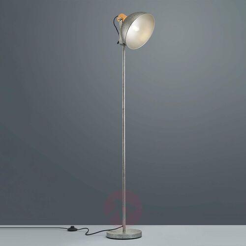 Lampa stojąca leuchten delhi nikiel matowy, 1-punktowy - vintage - obszar wewnętrzny - delhi - czas dostawy: od 3-6 dni roboczych marki Trio