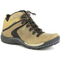 Trzewiki męskie trekkingowe BADURA 4227 - beż