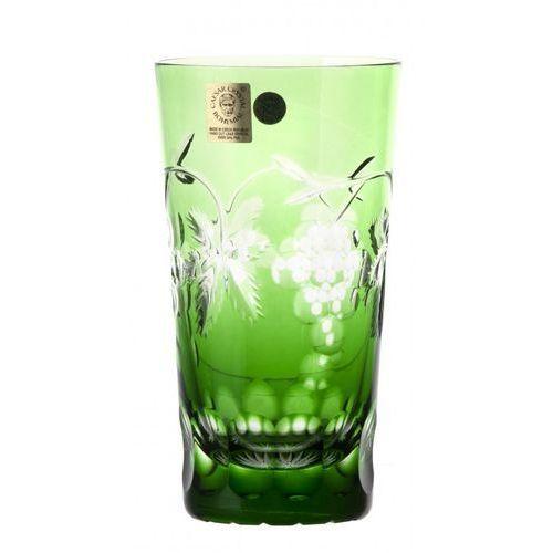 143331 szklanka winogrona, kolor zielony, objętość 320 ml marki Caesar crystal