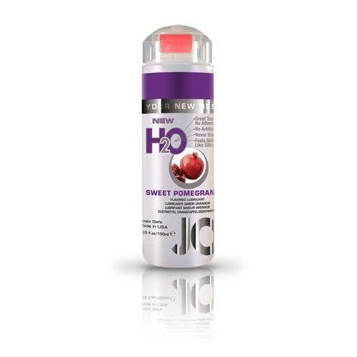 SexShop - Lubrykant smakowy - System JO H2O Lubricant Pomegranate 150 ml GRANAT - online z kategorii żele erotyczne