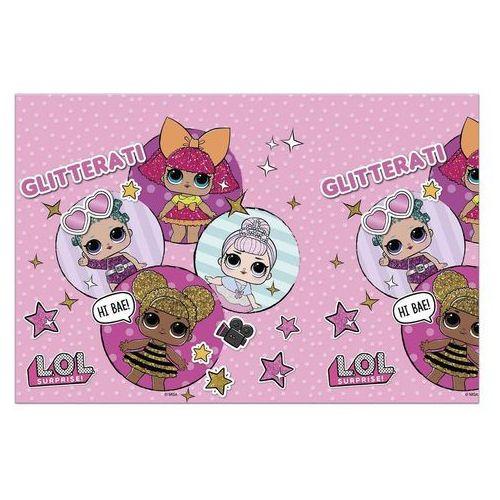 Obrus urodzinowy LOL Glitterati - 120x180 cm - 1 szt. (5201184908600)