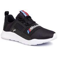 Sneakersy - bmw mms wired cage 306504 01 p black/p black/p white, Puma, 40-46