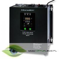 Qoltec inwerter solarny | pure sine wave | 700w | 20a