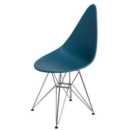 Krzesło rush dsr navy green - navy green marki D2.