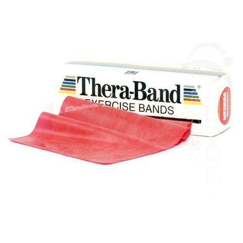 Thera band taśmy rehabilitacyjne, długość: 2,5 m, opór taśmy: średni marki Thera - band