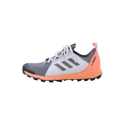 Adidas terrex Adidas performance terrex agravic speed obuwie do biegania szlak mottled grey/anthracite/orange