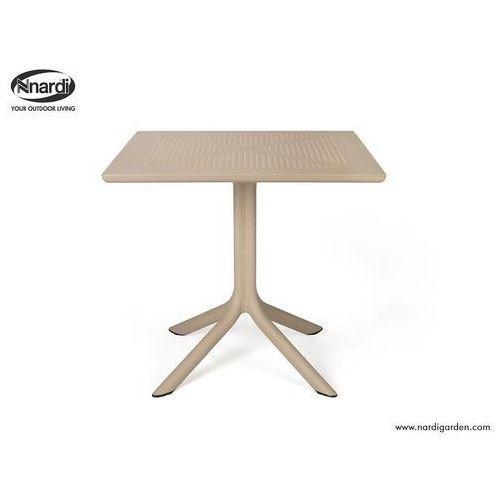 Stół clip beżowy jasny marki Nardi